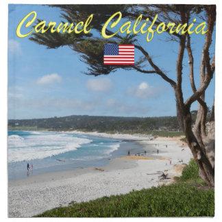 Stunning! CARMEL CALIFORNIA USA Napkin