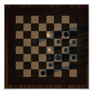 Stunning chess game art photo