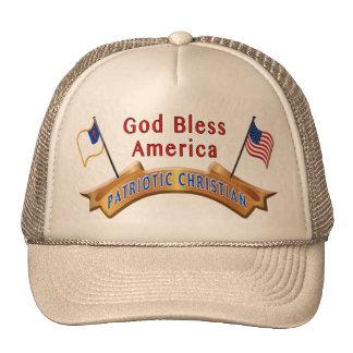 Stunning Christian Snapback Hats, Patriotic Theme Cap