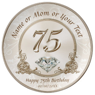 Stunning Gift Ideas For 75th Birthday Mom Plate