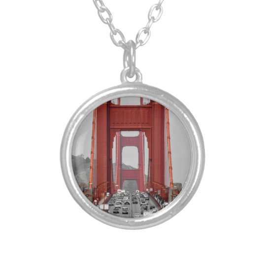 STUNNING! GOLDEN GATE BRIDGE CALIFORNIA USA SILVER PLATED