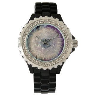 Stunning Magical Dandelion Head Wrist Watch