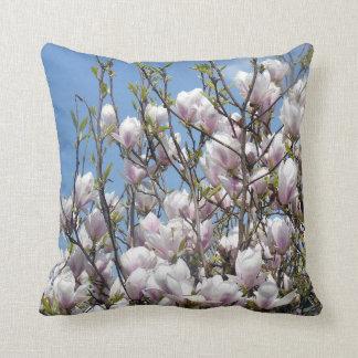 Stunning Magnolia Blossom Cushion