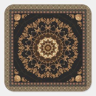 Stunning Mandala Square Sticker