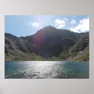 Stunning Mount Snowdon Photo Poster