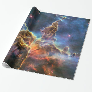 Stunning Nebula Space Astronomy Science Photo Wrapping Paper