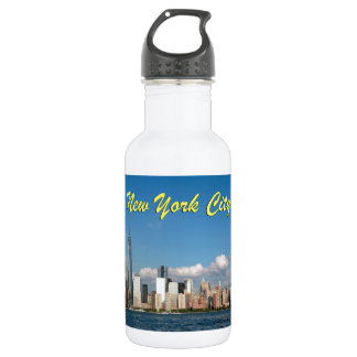 Stunning New York City USA 532 Ml Water Bottle