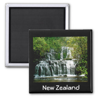 Stunning New Zealand Waterfall Fridge Magnets