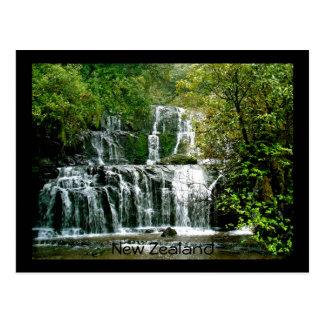 Stunning New Zealand Waterfall Postcards