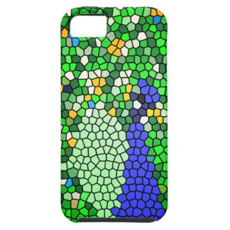 Stunning Peacock mosaic art gifts customised iPhone 5 Cases