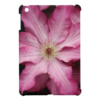 Stunning pink clematis print covers for iPad mini