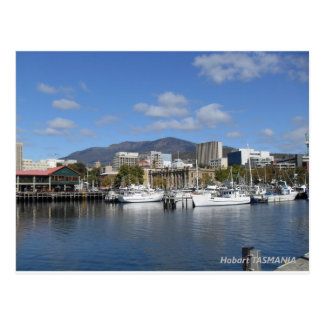 Stunning postcard of Hobart, Tasmania
