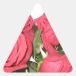 Stunning Red Roses Sticker