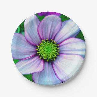 Stunning Simple Lilac Purple Wild Flower Paper Plate