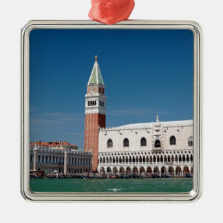 Stunning! St Mark's Square Venice Silver-Colored Square Decoration