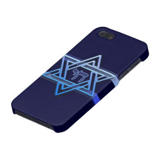Stunning Star of David chai iPhone 5/5S Case