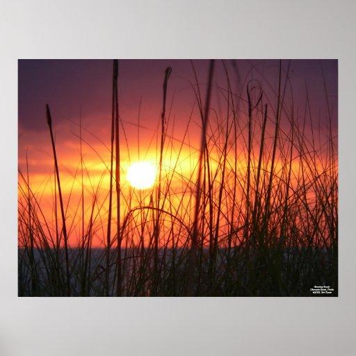 Stunning Sunset Poster