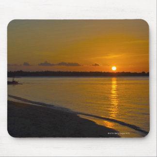 Stunning Tropical Sunset Mouse Mat