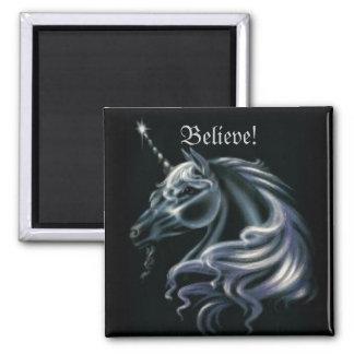 Stunning Unicorn Square Magnet