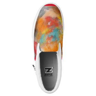 Stunning Unique Eye Catching Slip On Shoes Unisex Printed Shoes