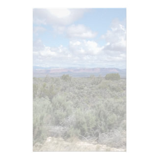 Stunning Utah desert and sky Customised Stationery
