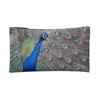 Stunning Vintage Peacock Makeup Bag