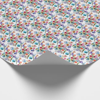 STUNNING WHIMSICAL FLORAL WRAPPING PAPER