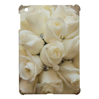 Stunning White Rose Wedding Bouquet Case For The iPad Mini