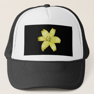 Stunning Yellow Lily Flower Trucker Hat