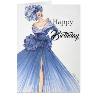 Stunningly Dramatic Birthday Card! Card