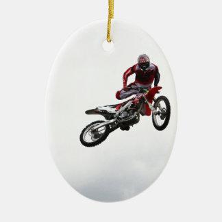 Stunt Bike Christmas Ornament
