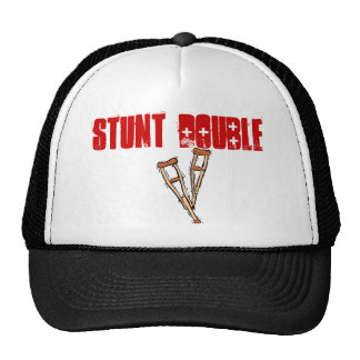 STUNT DOUBLE TRUCKER HATS