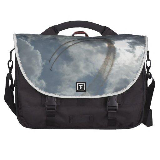 Stunt Flying Demonstration Laptop Bag