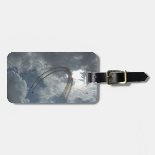 Stunt Flying Demonstration Luggage Tag