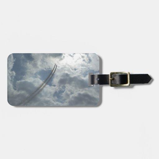 Stunt Flying Demonstration Bag Tags