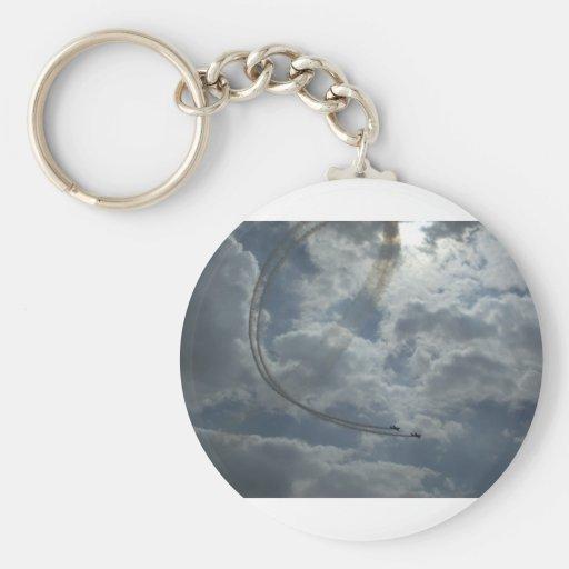 Stunt Flying Display Keychains