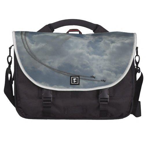 Stunt Flying Display Laptop Shoulder Bag