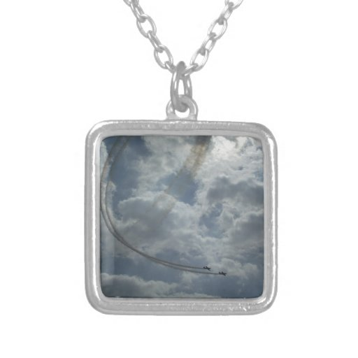 Stunt Flying Display Necklace