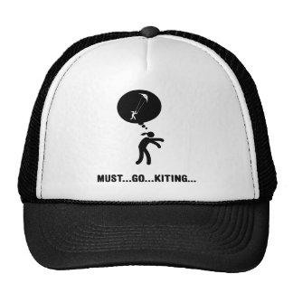 Stunt Kiting Trucker Hats
