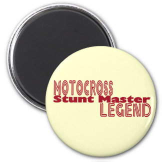 Stunt Master 6 Cm Round Magnet