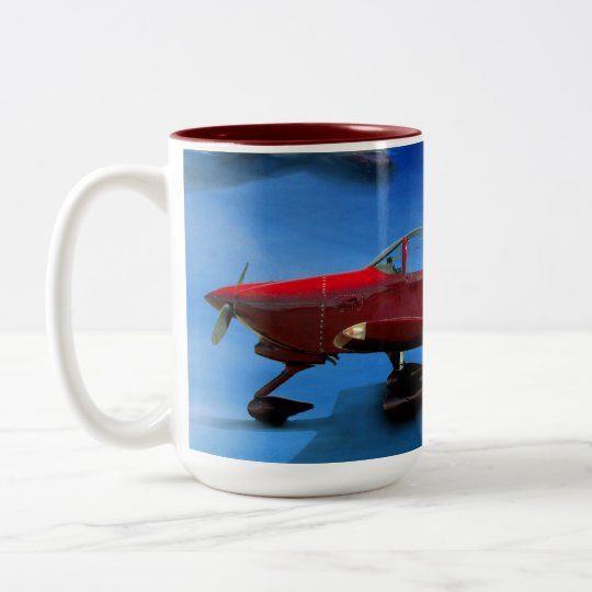 Stunt Plane Mug
