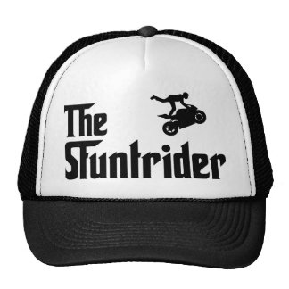 Stunt Rider Mesh Hat