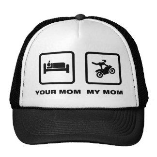 Stunt Rider Mesh Hats