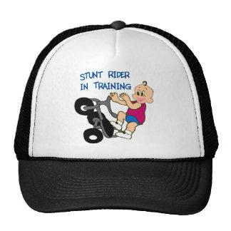 Stunt Rider In Training Mesh Hat