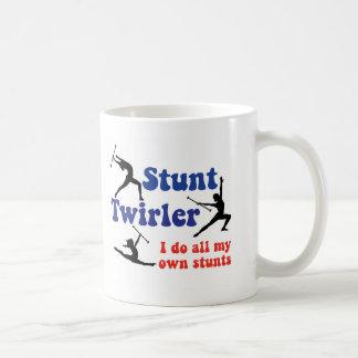 Stunt Twirler Classic White Coffee Mug