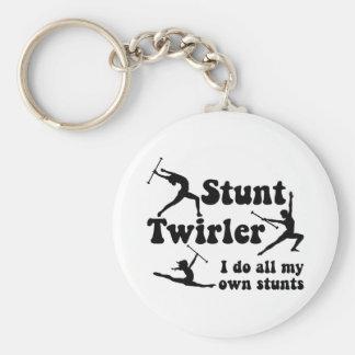 Stunt Twirler Key Chains