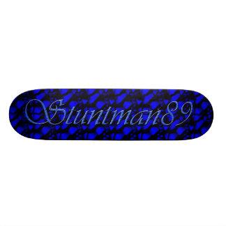 Stuntman89 Blue Skateboard