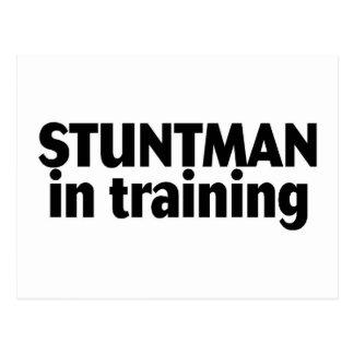 Stuntman In Training Postcard