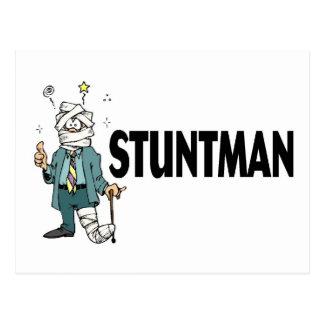 Stuntman Postcard