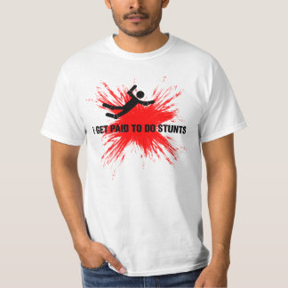 STUNTMAN PROFESSIONAL (black/red) T-Shirt
